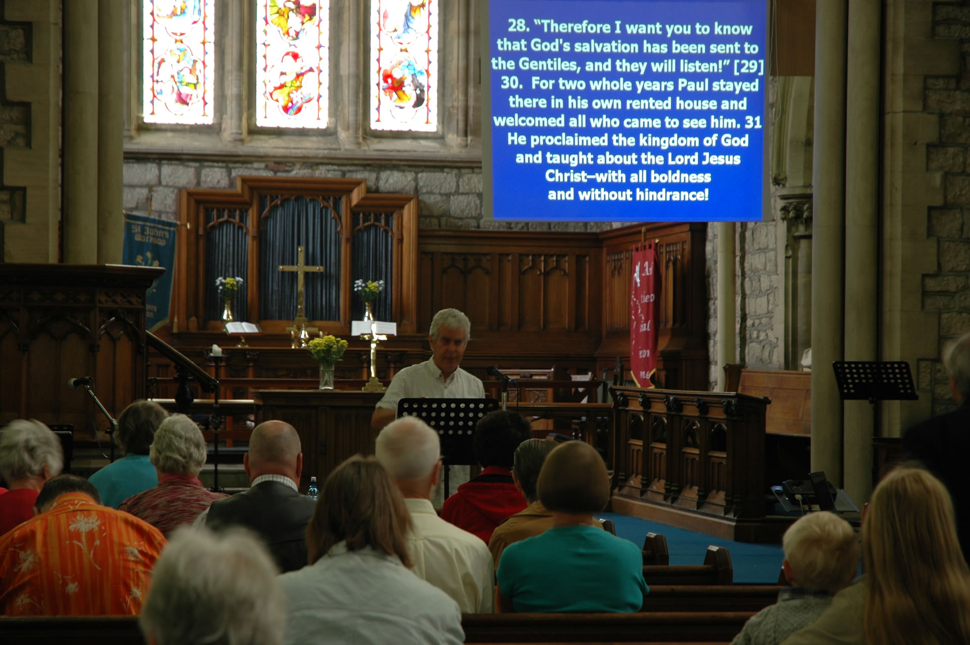 A Sunday Service at St John's