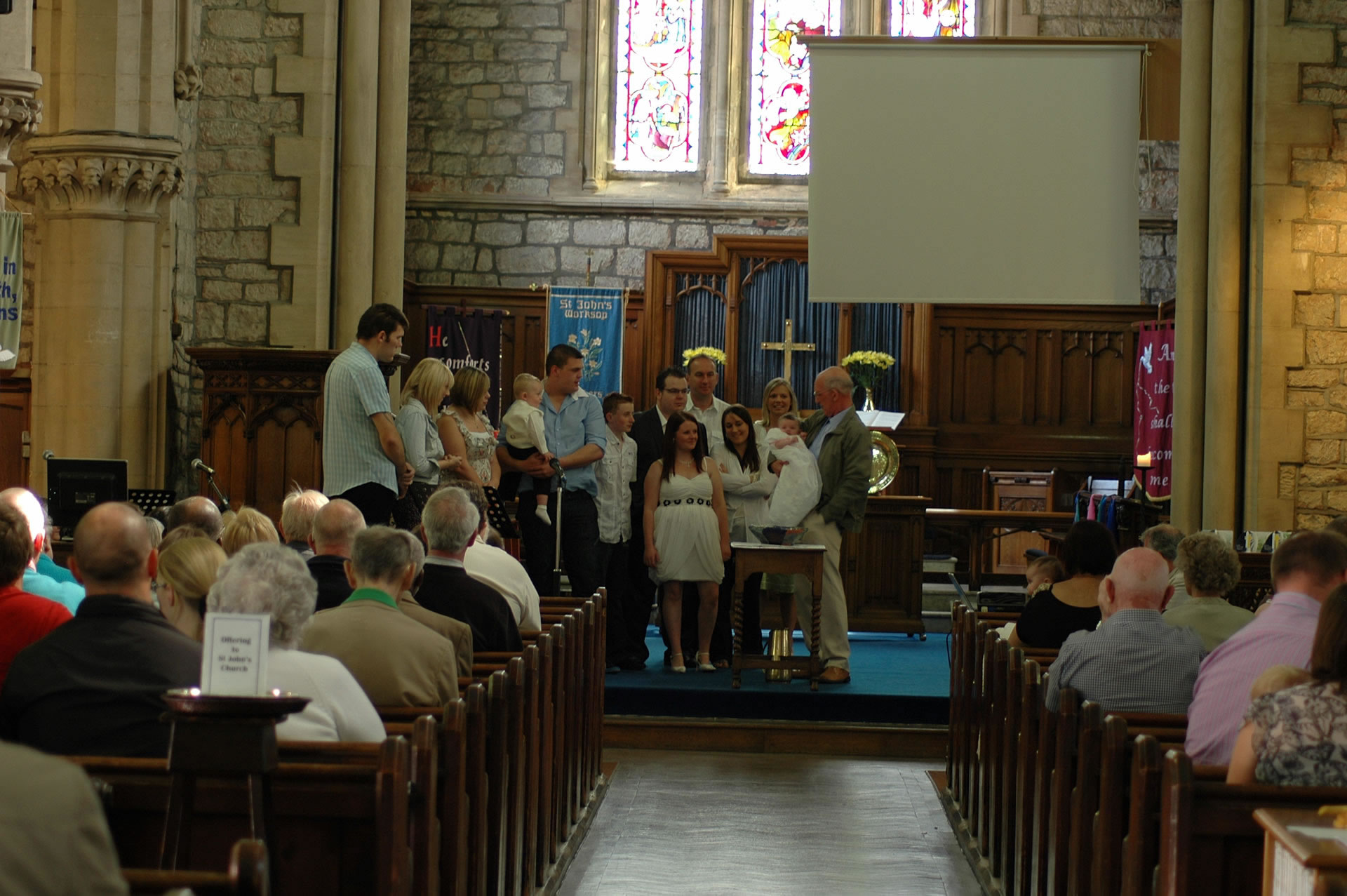 Baptism and Weddings at St Johns' Church, Worksop